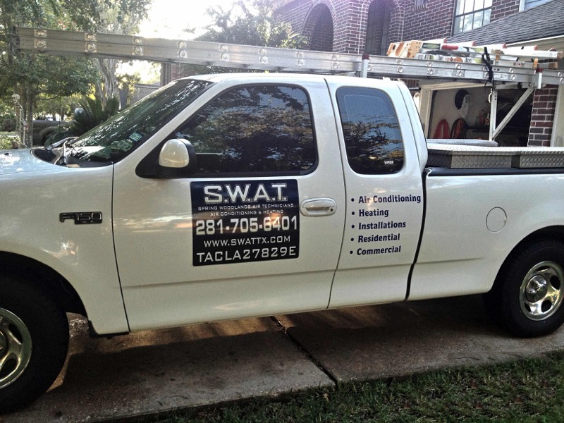 SWAT Air Conditioning Trucks