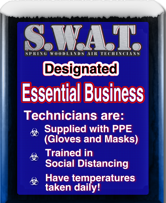 SWAT | OPEN During COVID-19 Outbreak | AC Repair Emergency Services